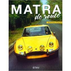 Livre Matra de Route ETAI Dominique Pagneux