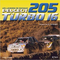 Peugeot 205 T16 lauriers de sochaux