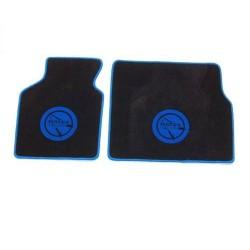 Tapis de sol Noir écriture Bleu Bagheera Murena
