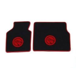 Tapis de sol Noir écriture rouge Bagheera Murena