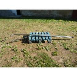 2 tuyaux radiateur inox 530