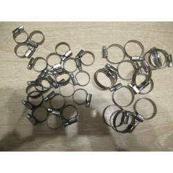 Kit 34 colliers inox pour durite d'eau 205 T16