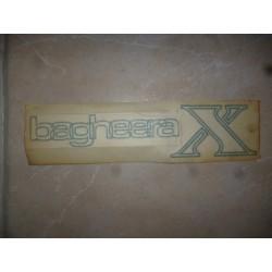Autocollant Bagheera X vert