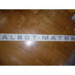 Logo Talbot Matra 80
