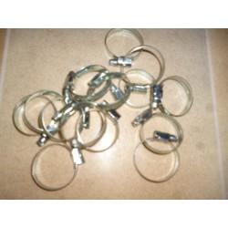 Kit 14 colliers inox durites de refroidissementnt